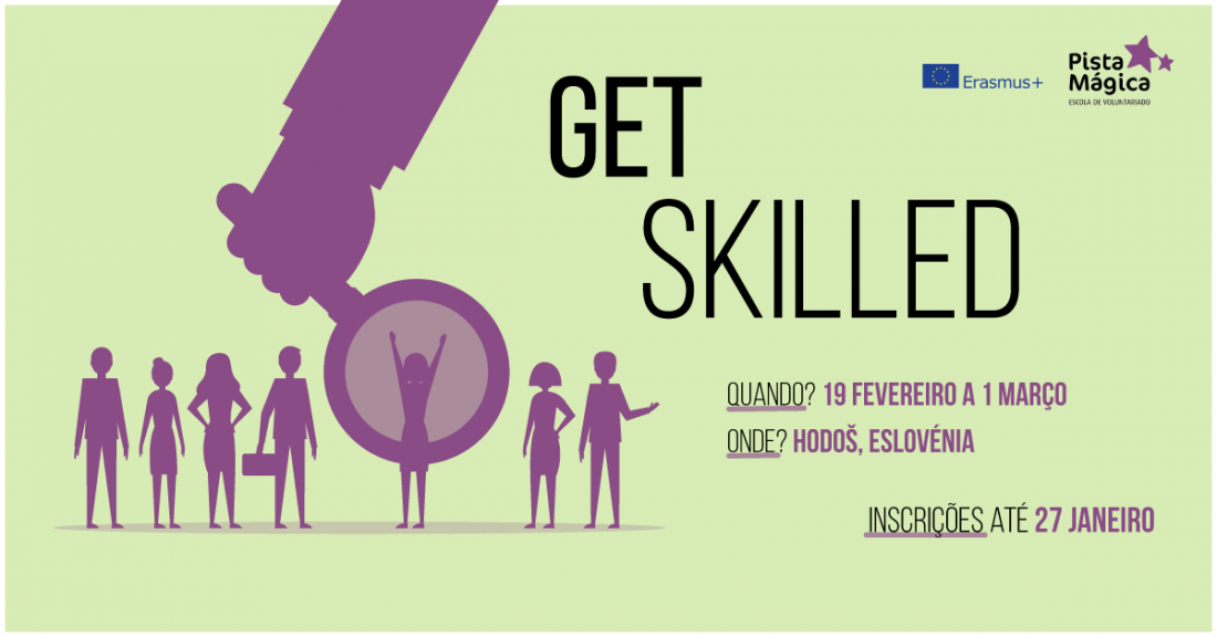 Workshop Get Skilled | Pista Mágica - Escola de Voluntariado